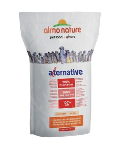 Almo Nature ALTERNATIVE M-L Pollo e Riso 3750g