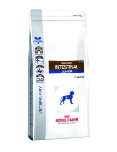 Royal Canin cane vet dry Gastro Intestinal Junior 2,5kg