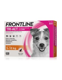Frontline tri-act spot-on per cani 5-10 kg