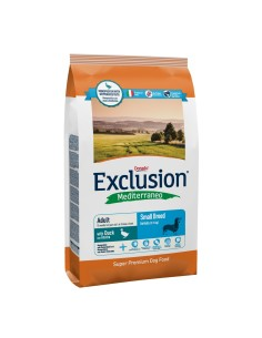 EXCLUSION MEDITERRANEO Small Breed Adult Duck 2kg