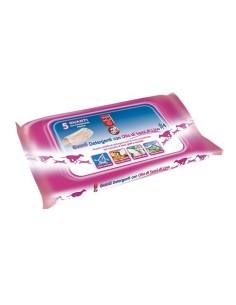 Bayer Sano e Bello Guanti detergenti olio semi di lino 5 pezzi