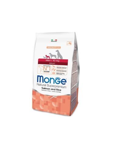 Monge Dog Superpremium Mini Adult con Salmone e Riso - 800gr