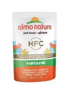 Almo Nature classic NATURAL - Filetto di Pollo 55g