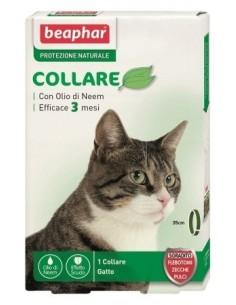 Beaphar collare gatto antiparassitario naturale olio di neem