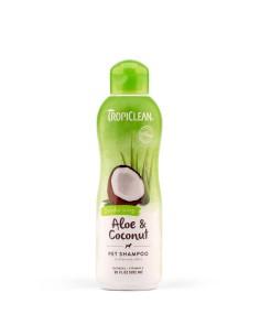 TROPICLEAN Shampoo Aloe & Coconut DEODORIZING 592 ml