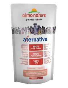 Almo Nature ALTERNATIVE XS-S Salmone e Riso 750g