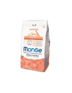 Monge all breeds adult salmone e riso 12 kg