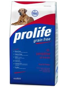 Prolife Dog grain free sensitive Manzo e patate 2 Kg