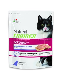 Natural trainer Gatto mature pollo fresco 300 gr