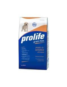 Prolife puppy sensitive grain free pollo e patate 12 Kg