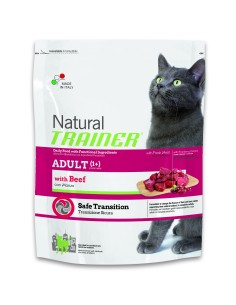 Natural trainer Gatto  adult manzo 1,5 kg