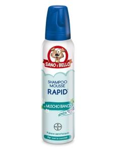 Shampoo mousse rapid al muschio bianco 300 ml