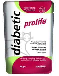 Prolife cat vet diabetic busta 85 gr