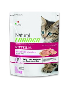 Natural trainer kitten pollo fresco 300 g