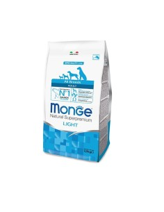 Monge all breeds adult light salmone e riso 2,5 kg
